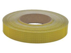 """Oralite Reflective Tape, 10 yr, 1"""" Width, 150 ft. Length, Agriculture, Roll"""