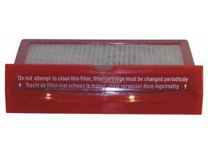 BISSELL COMMERCIAL HEPACAS-09 Filter,HEPA,1-3/4in.Lx6-1/2in.W,Plastic