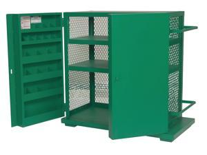 Cabinet, Mesh, 48 Wx28 Dx52 In H, 37.3Cu-Ft