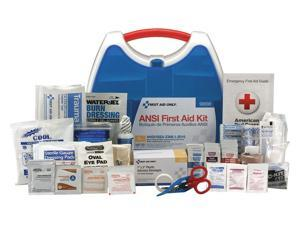 First Aid Kit, Kit, Plastic Case Material, Industrial, 50 People Served Per Kit
