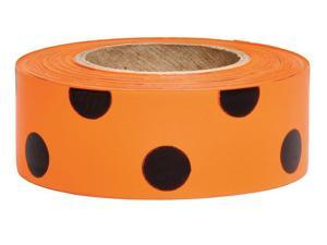 Texas Flagging Tape,Orange Glo,150 ft PRESCO PRODUCTS CO TXOG-200