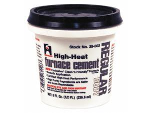 HERCULES 35503 Furnace Cement,High Temperature,1/2 pt.