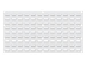 Louvered Panel,White,160 lb.,35-3/4 in.W AKRO-MILS 30636TEXWHT