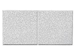"48""Lx24""W Acoustical Ceiling Tile Cortega, Mineral Fiber, PK10 ARMSTRONG 2767D"