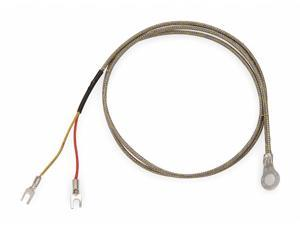 L TEMPCO TCS00012 Thermocouple Probe,Type J,12 in
