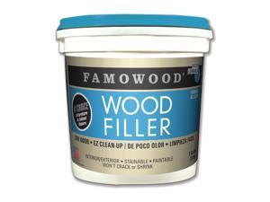 FAMOWOOD 40002126 Wood Filler, 1 gal, Pail, natural