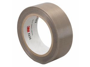 3m PTFE Glass Cloth Tape Light Brown  PTFE Impregnated Fiberglass  2-36-5151