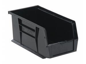 "QUANTUM STORAGE SYSTEMS QUS230BR Black Hang and Stack Bin, 10-7/8""L x 5-1/2""W x"