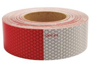 """Oralite Reflective Tape, 5 yr, 2"""" Width, 150 ft. Length, Truck and Trailer, Roll"""