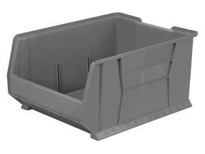 Super Size Bin,2.53 cu. ft. Vol Capacity AKRO-MILS 30289GREY