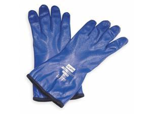 "Honeywell Chemical Resistant Glove, 12"" L, Sz 9, PR Blue   NK803IN/9"