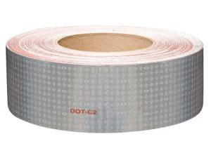 """Reflective Tape, 10 yr, 2"""" Width, 150 ft. Length, Truck and Trailer, Roll"""