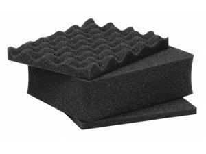 """NANUK CASES 905-FOAM Cubed Foam Inserts 9-3/8"""" x 7-3/8"""", Pk3"""