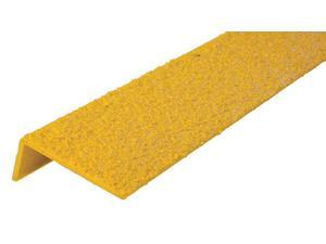 CONCRETE SAVER 292483 Anti-Slip Stair Nosing,36in W,Fiberglass