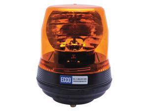 """ECCO 5816A Rotating Beacon,Polycarbonate,8-13/64"""" H"""