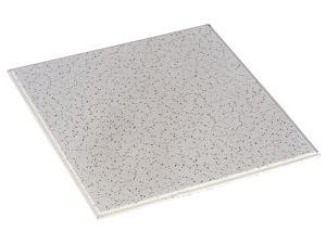 "ARMSTRONG 746 12/""Lx12/""W Acoustical Ceiling Tile Fine Fissured Mineral Fiber,"