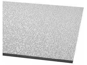 """Armstrong Ceiling Tile, 24"""" Width, 48"""" Length, 5/8"""" Thickness, Fiberglass 2911A"""
