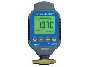 SUPCO VG640D Vacuum Gauge,Digital,0 to 19000 Microns