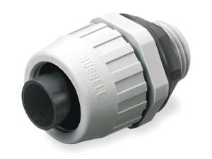 """Nylon Insulated Connector, Connector Type: Straight, Conduit Size:  1/2"""""""
