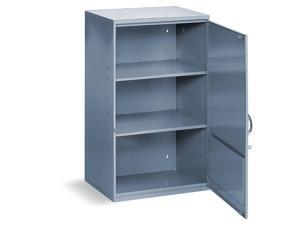 "DURHAM MFG 056-95 Gray Storage Cabinet, 32-3/4"" , 19-7/8""W"