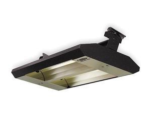 FOSTORIA 342-90-TH-480V Electric Infrared Heater, Ceiling, Suspended,
