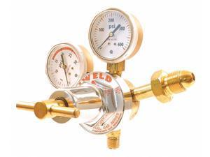 2 Oxygen and LP//Acetylene 30 Series Gas Regulator Kit 100 psi Oxygen//15 psi Fuel