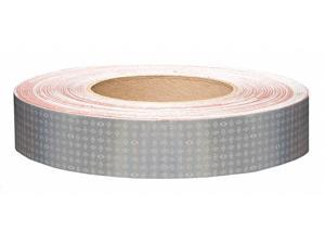 """Reflective Tape, 10 yr, 1"""" Width, 150 ft. Length, Emergency Vehicle, Roll"""