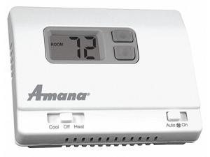 Mechanical Thermostat,Plastic,3 in. D AMANA PHWT-A150H