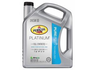 PENNZOIL 550046126 Engine Oil, 5W-30, Full Synthetic, 5 Qt.