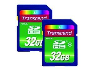 2 Pack Panasonic Lumix DMC-GF5 Digital Camera Memory Card 2 x 32GB Secure Digital High Capacity Memory Cards SDHC