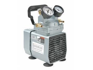 Gast Compressor/Vacuum Pump,1/8 HP,60 Hz,115V HAWA DOA-P704-AA