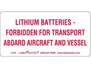 Labelmaster DOT Handling Label,  Language English,  DOT/UN Product Form Label