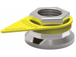 Checkpoint Loose Wheel Nut Indicator, 28mm, Plastic Yellow  Plastic  CPY28MM