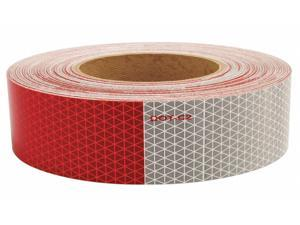 """Reflective Tape, 5 yr, 1-3/4"""" Width, 150 ft. Length, Truck and Trailer, Roll"""