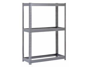 """EDSAL RL6913 Boltless Shelving Unit, 17""""D x 69""""W x 60""""H, 3 Shelves, Steel"""