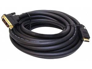 Monoprice 35 ft HDMI to DVI Adapter Cable Network Cable