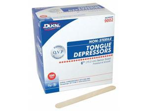 "Unimed Midwest Inc Tongue Depressor, Non-Sterile, 2/3"" Width, 6"" Length"