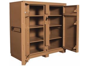 KNAACK 139 60 in x 60 in x 30 in Jobsite Storage Cabinet