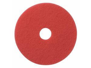 Americo Red Buff  Floor Pad, 20in., PK5   404420