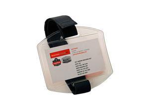 Squids 3386 Vinyl Arm Band ID/Badge Holder - Black