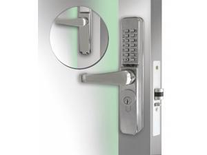 Codelocks Mechanical Lockset,Stainless Steel,Lever  CL465-SS
