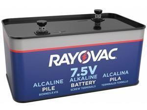 Rayovac Fence Battery,Alkaline,7.5VDC,Screw HAWA 803