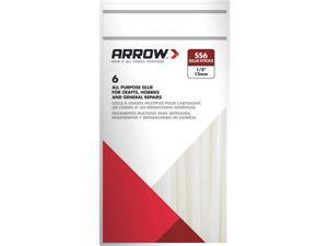 """Arrow Fastener SS6 Slow Set Glue Stix-4"""" SLOW GLUE STICKS"""