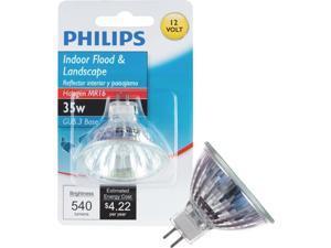 Philips Lighting Co 35w 12v Mr16 Hal Bulb 419325