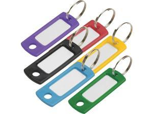 Lucky Line Flexible Plastic Tag 2 In. I.D Key Tag 16900