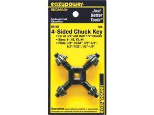 #2 #3,#4 EAZYPOWER 88149//B Chuck Key 4-Sided,#1