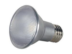 Satco 50W Equivalent Warm White PAR20 Medium Dimmable LED Floodlight Light Bulb