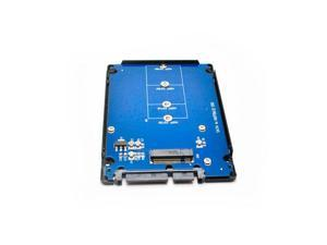 NGFF to SATA III adapter with plastic case m.2 ssd to 2.5inch sata3 7pin+15pin Converter for desktop computer