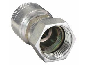Fitting, Straight, 1/4 In Hose, 7/16-20 JIC