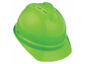 Msa Hard Hat Hi-Visibility Green  10035213
